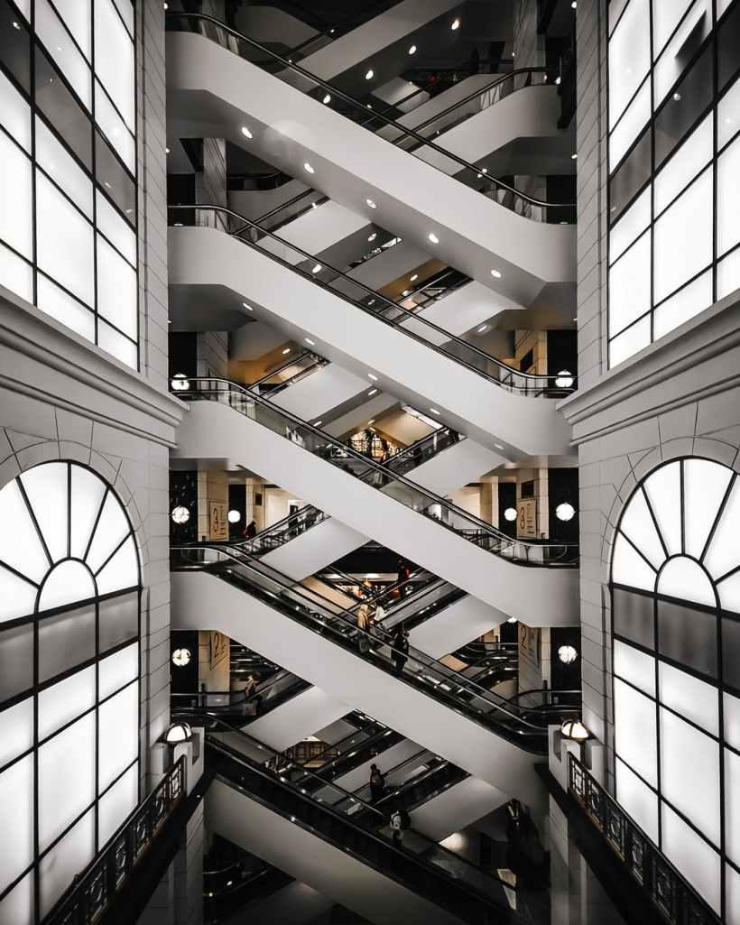 building escalator